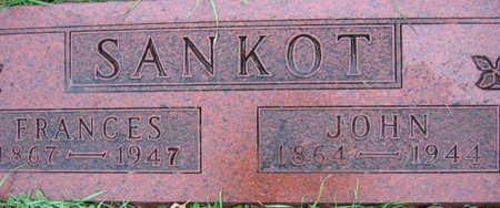 SANKOT, FRANCES - Linn County, Iowa | FRANCES SANKOT