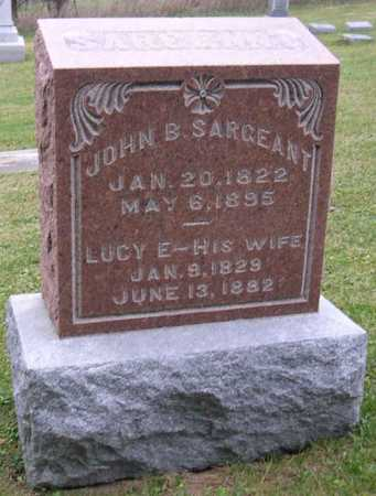 SARGEANT, LUCY E. - Linn County, Iowa | LUCY E. SARGEANT