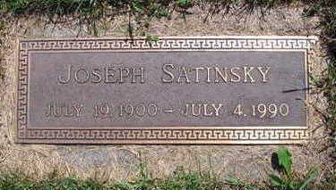 SATINSKY, JOSEPH - Linn County, Iowa   JOSEPH SATINSKY