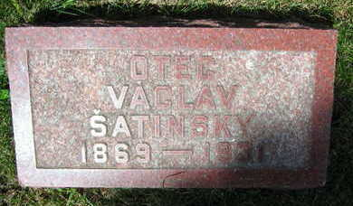 SATINSKY, VACLAV - Linn County, Iowa | VACLAV SATINSKY