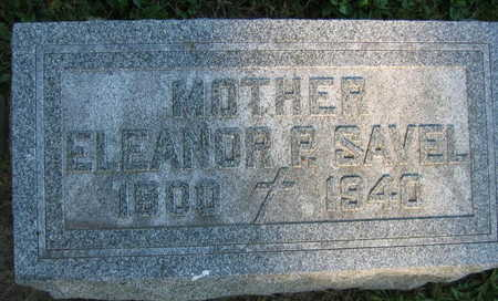 SAVEL, ELEANOR P. - Linn County, Iowa | ELEANOR P. SAVEL