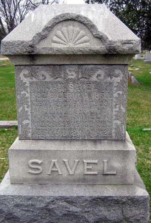 SAVEL, FAMILY STONE - Linn County, Iowa | FAMILY STONE SAVEL