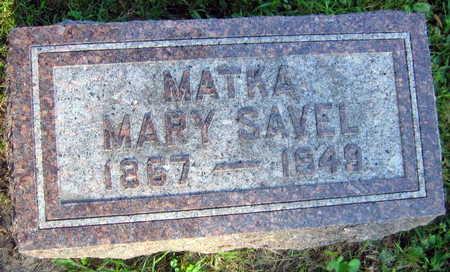 SAVEL, MARY - Linn County, Iowa | MARY SAVEL