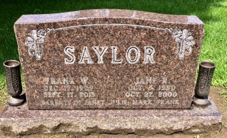 SAYLOR, JANE R. - Linn County, Iowa | JANE R. SAYLOR