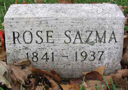 SAZMA, ROSE - Linn County, Iowa   ROSE SAZMA