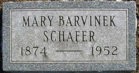 SCHAFER, MARY - Linn County, Iowa   MARY SCHAFER