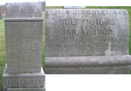 SCHLEICKER, EMMA G. - Linn County, Iowa | EMMA G. SCHLEICKER