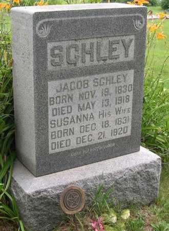SCHLEY, SUSANNA - Linn County, Iowa | SUSANNA SCHLEY