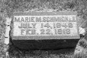 LEBHERZ SCHMICKLE, MARIE M. - Linn County, Iowa | MARIE M. LEBHERZ SCHMICKLE
