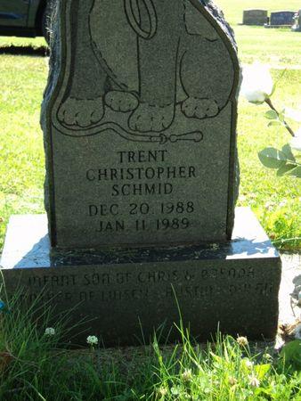SCHMID, TRENT CHRISTOPHER - Linn County, Iowa | TRENT CHRISTOPHER SCHMID