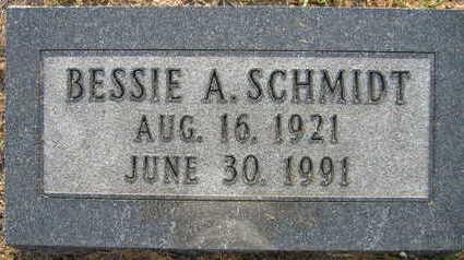 SCHMIDT, BESSIE A. - Linn County, Iowa | BESSIE A. SCHMIDT