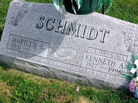 SCHMIDT, KENNETH A. - Linn County, Iowa | KENNETH A. SCHMIDT