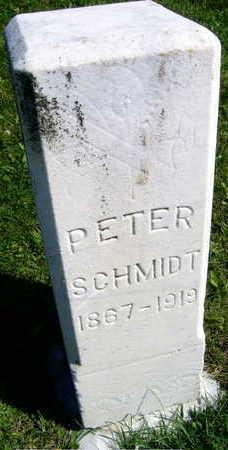 SCHMIDT, PETER - Linn County, Iowa | PETER SCHMIDT