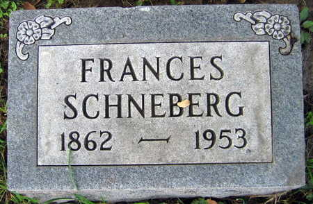 SCHNEBERG, FRANCES - Linn County, Iowa | FRANCES SCHNEBERG