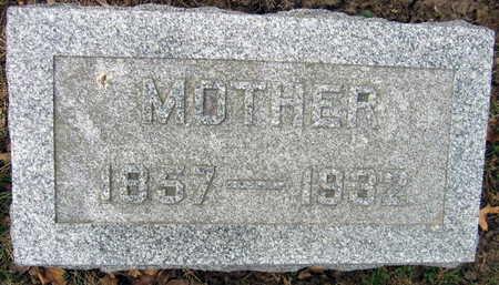 SCHNEBERGER, MOTHER - Linn County, Iowa | MOTHER SCHNEBERGER