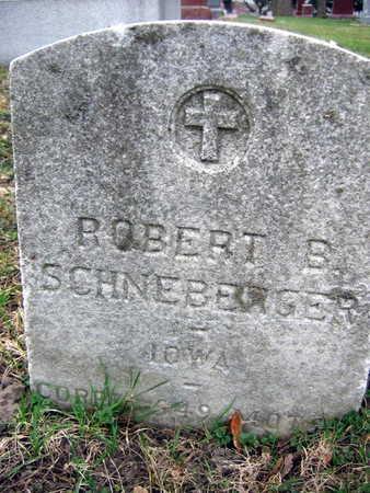 SCHNEBERGER, ROBERT E. - Linn County, Iowa | ROBERT E. SCHNEBERGER