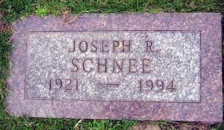 SCHNEE, JOSEPH R. - Linn County, Iowa | JOSEPH R. SCHNEE