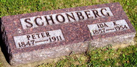 SCHONBERG, PETER - Linn County, Iowa | PETER SCHONBERG