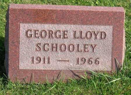 SCHOOLEY, GEORGE LLOYD - Linn County, Iowa   GEORGE LLOYD SCHOOLEY
