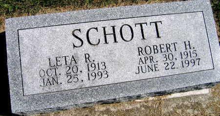 SCHOTT, ROBERT H. - Linn County, Iowa | ROBERT H. SCHOTT