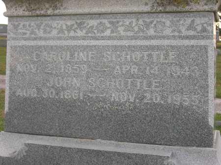 SCHOTTLE, CAROLINE - Linn County, Iowa | CAROLINE SCHOTTLE