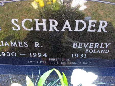 SCHRADER, JAMES R. - Linn County, Iowa   JAMES R. SCHRADER