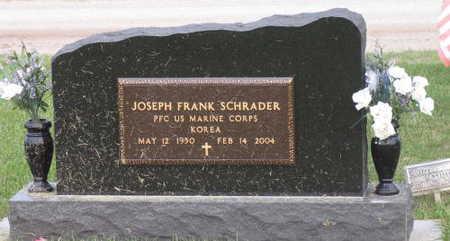 SCHRADER, JOSEPH FRANK - Linn County, Iowa | JOSEPH FRANK SCHRADER