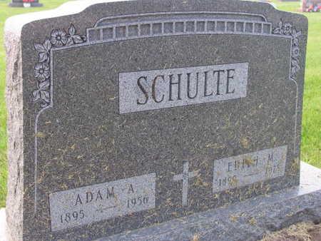 SCHULTE, EDITH M. - Linn County, Iowa   EDITH M. SCHULTE