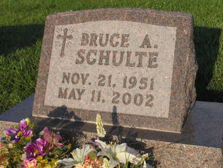 SCHULTE, BRUCE A. - Linn County, Iowa | BRUCE A. SCHULTE