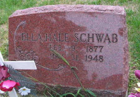 HALE SCHWAB, ELLA - Linn County, Iowa | ELLA HALE SCHWAB