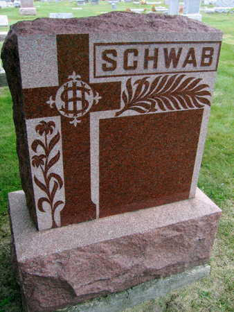 SCHWAB, MEMORIAL TO - Linn County, Iowa | MEMORIAL TO SCHWAB
