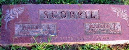 SCORPIL, WALTER F. - Linn County, Iowa | WALTER F. SCORPIL