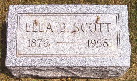 SCOTT, ELLA B. - Linn County, Iowa | ELLA B. SCOTT
