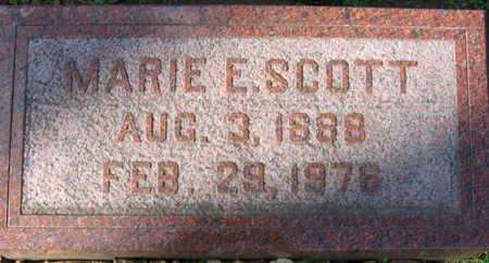 SCOTT, MARIE E. - Linn County, Iowa | MARIE E. SCOTT