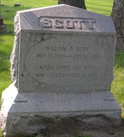 PIPER SCOTT, MARY - Linn County, Iowa | MARY PIPER SCOTT
