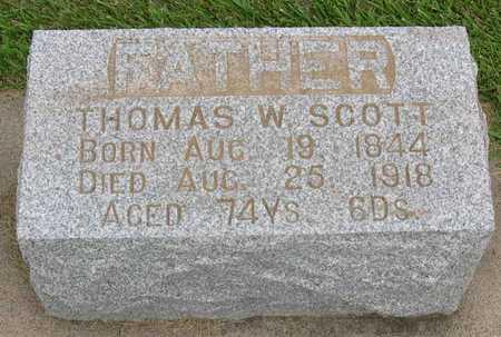 SCOTT, THOMAS W. - Linn County, Iowa | THOMAS W. SCOTT