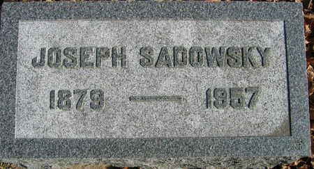 SADOWSKY, JOSEPH - Linn County, Iowa | JOSEPH SADOWSKY