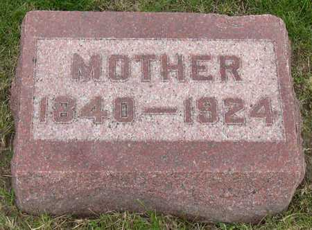 SEARS, MOTHER - Linn County, Iowa | MOTHER SEARS