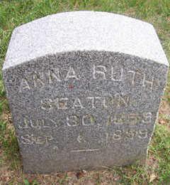 SEATON, ANNA RUTH - Linn County, Iowa   ANNA RUTH SEATON