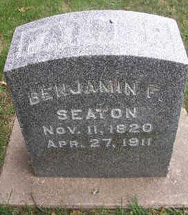 SEATON, BENJAMIN F. - Linn County, Iowa | BENJAMIN F. SEATON