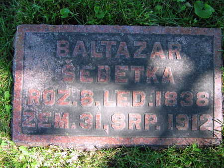 SEBETKA, BALTAZAR - Linn County, Iowa | BALTAZAR SEBETKA