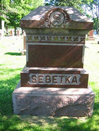SEBETKA, FAMILY STONE - Linn County, Iowa | FAMILY STONE SEBETKA