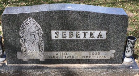 SEBETKA, ROSE - Linn County, Iowa | ROSE SEBETKA