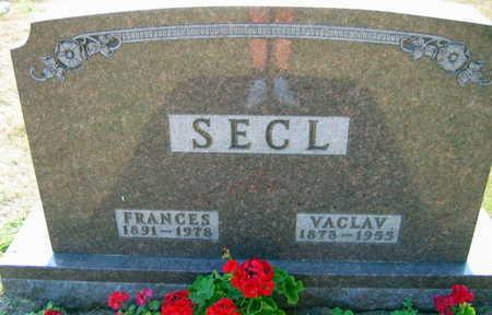 SECL, VACLAV - Linn County, Iowa | VACLAV SECL