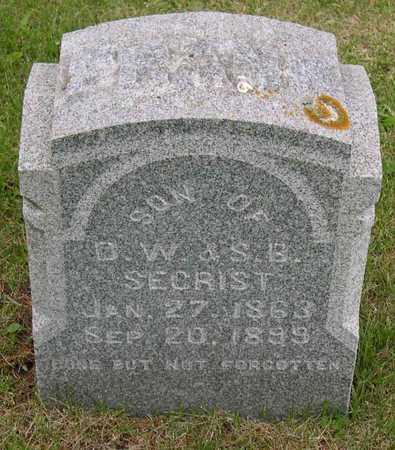 SECRIST, FRANK - Linn County, Iowa   FRANK SECRIST