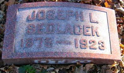 SEDLACEK, JOSEPH L - Linn County, Iowa | JOSEPH L SEDLACEK