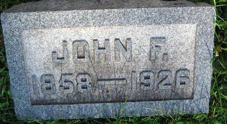 SEDLACEK, JOHN F. - Linn County, Iowa | JOHN F. SEDLACEK