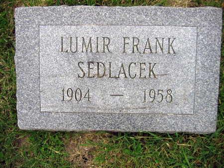 SEDLACEK, LUMIR FRANK - Linn County, Iowa | LUMIR FRANK SEDLACEK