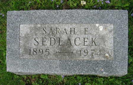 SEDLACEK, SARAH E. - Linn County, Iowa | SARAH E. SEDLACEK