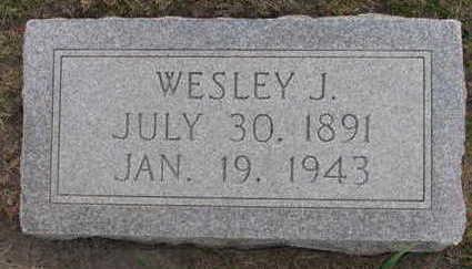 SEDLACEK, WESLEY J. - Linn County, Iowa | WESLEY J. SEDLACEK
